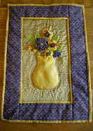 Hand Made Quilted Wall Hanging