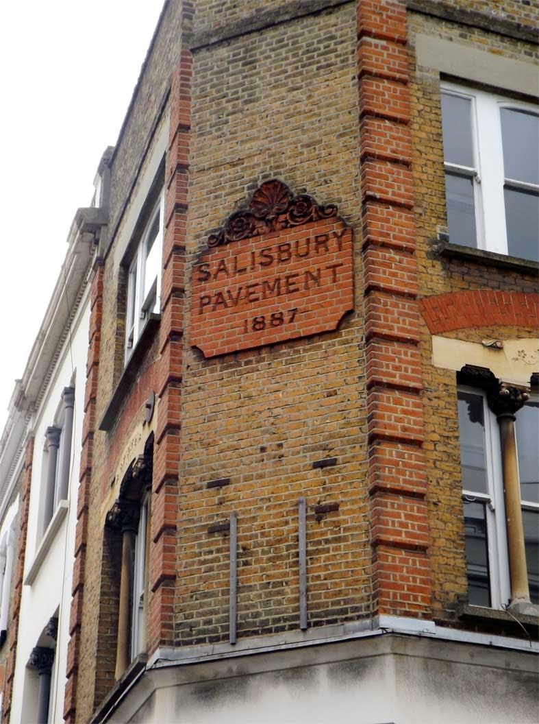 salisbury pavement buildings putney