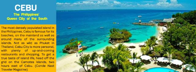 Cebu - Pilihan Destinasi Wisata Favorit di Filipina