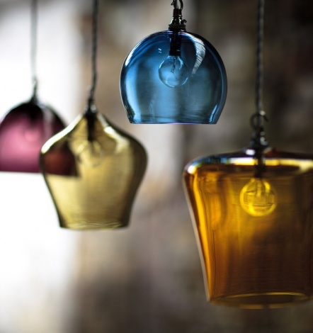 Unique Concepts Design Hand Blown Glass Pendant Lighting