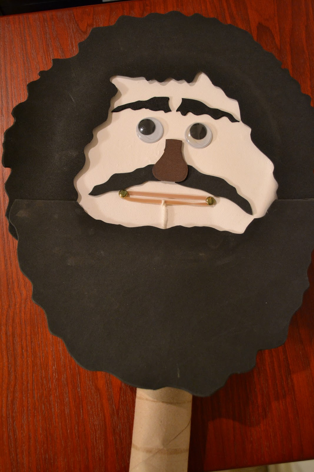 Paper Plate Puppet with Moveable Mouth & Bible Class Creations: Paper Plate Puppet with Moveable Mouth