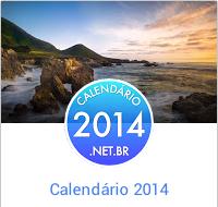 Banner do novo site do calendário 2014