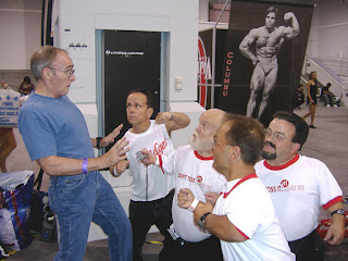 KING OF MUSCLE ANIMATION AB AT MR OLYMPIA 2007