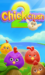 Screenshots of the Chicken crush 2 for Android tablet, phone.
