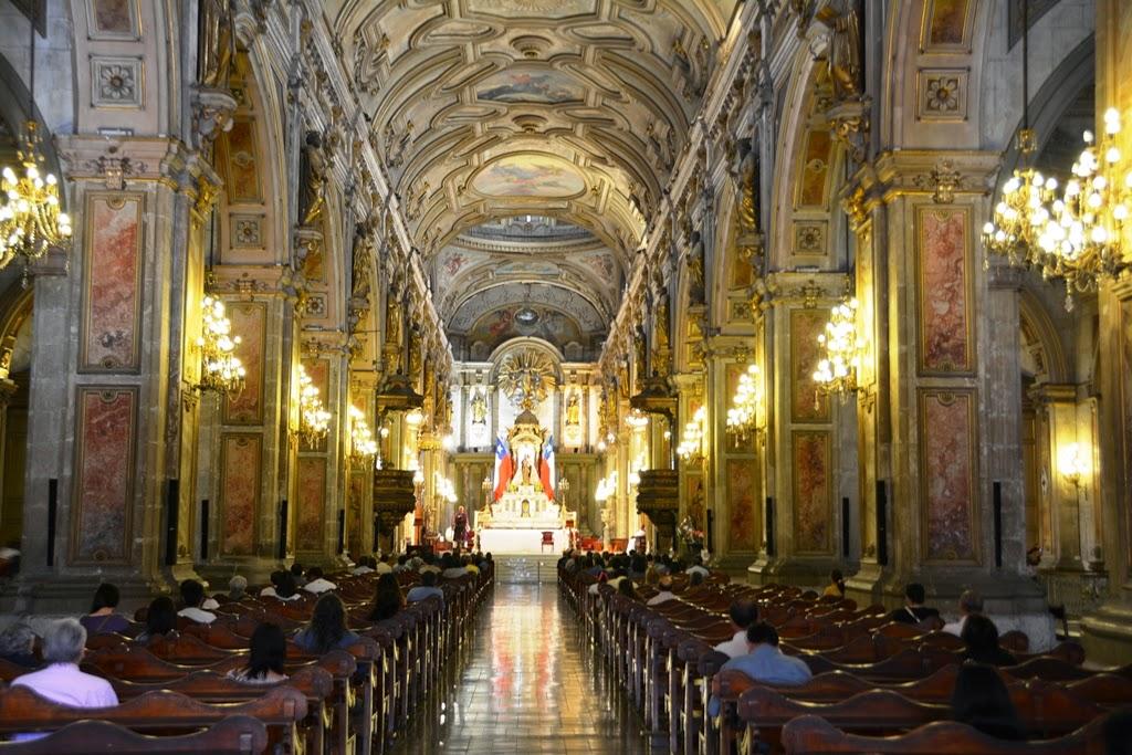 Cathedral of Santiago de Chile ship