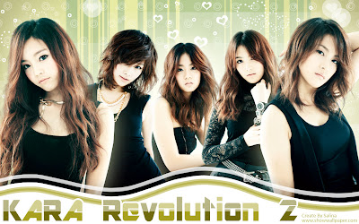 KARA+Revolution+Wallpaper 10 Girlband Korea Paling Cantik