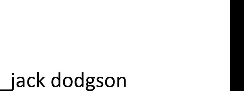 jack dodgson