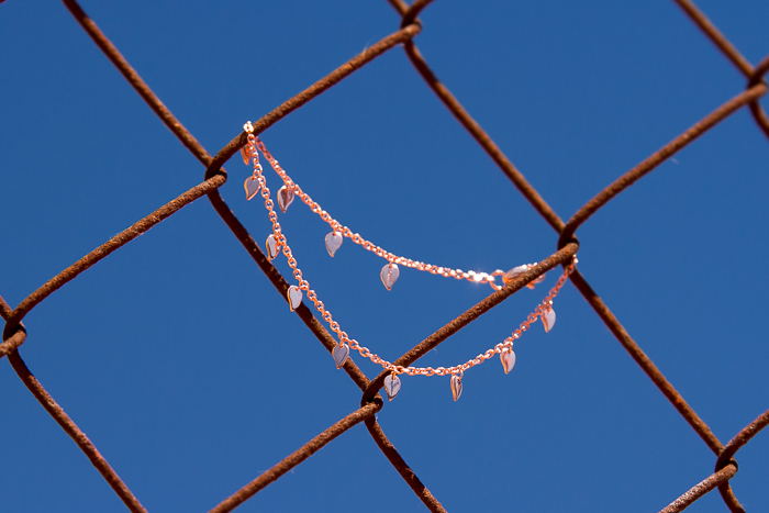 Rose Gold Small Leaf Bracelet: FOREVER LEAF New Collection by CHAVIN