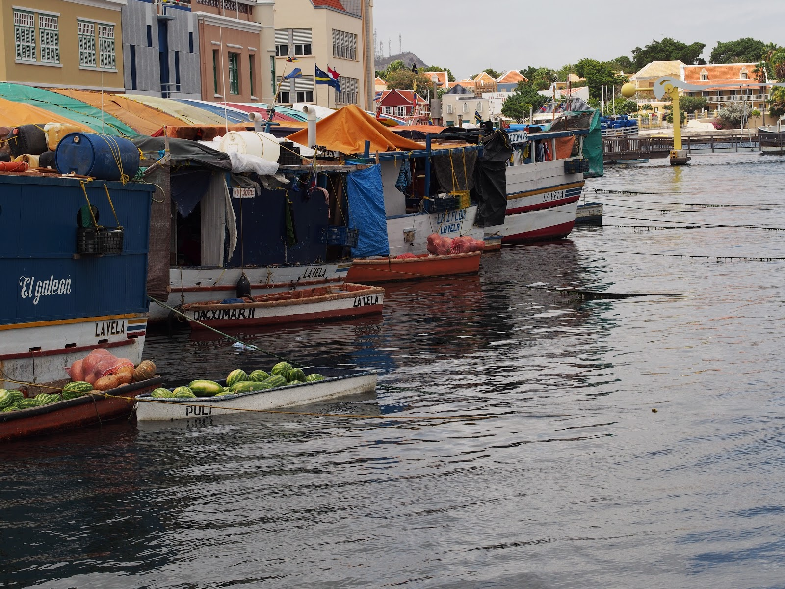 Floating Market, Williamstad, Curacao 2014 #floatingmarket #williemstad #curacao
