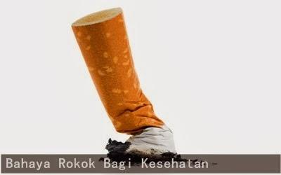 Bahaya kebiasaan merokok bagi kesehatan