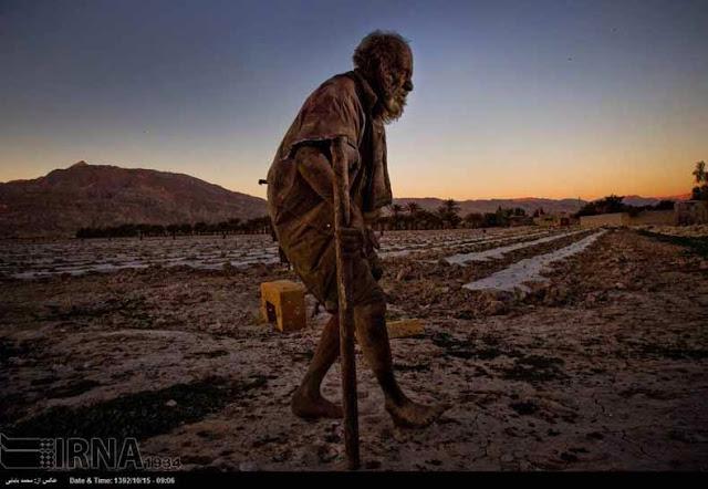 Irán no baña 60 años
