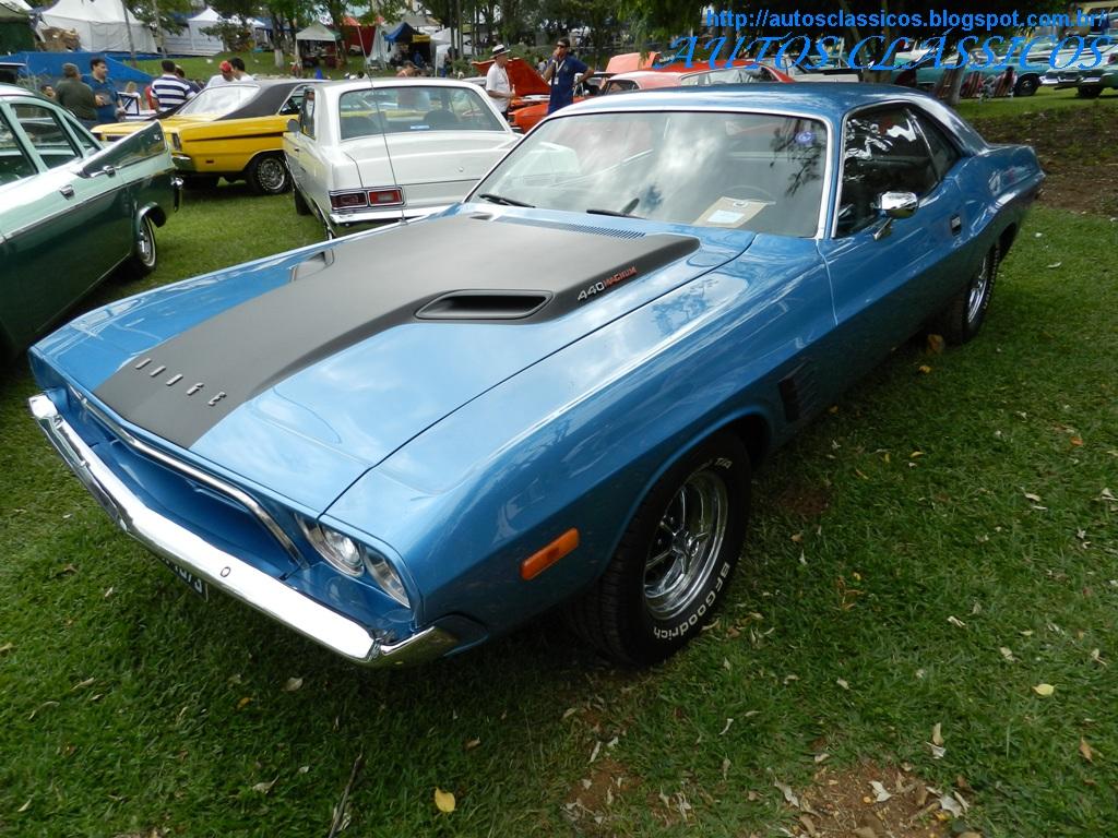 Dodge Challenger Antigo V8 >> AUTOS CLÁSSICOS: XVII ENCONTRO PAULISTA DE AUTOS ANTIGOS - AGUAS DE LINDÓIA 2012 (5)