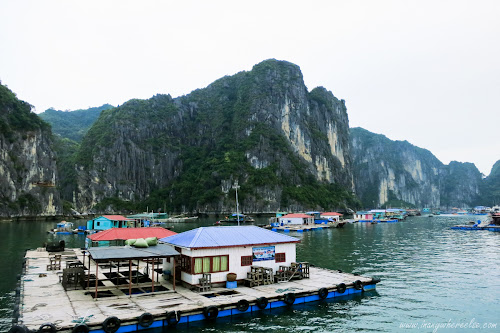 Halong Bay Floating Village, Vietnam