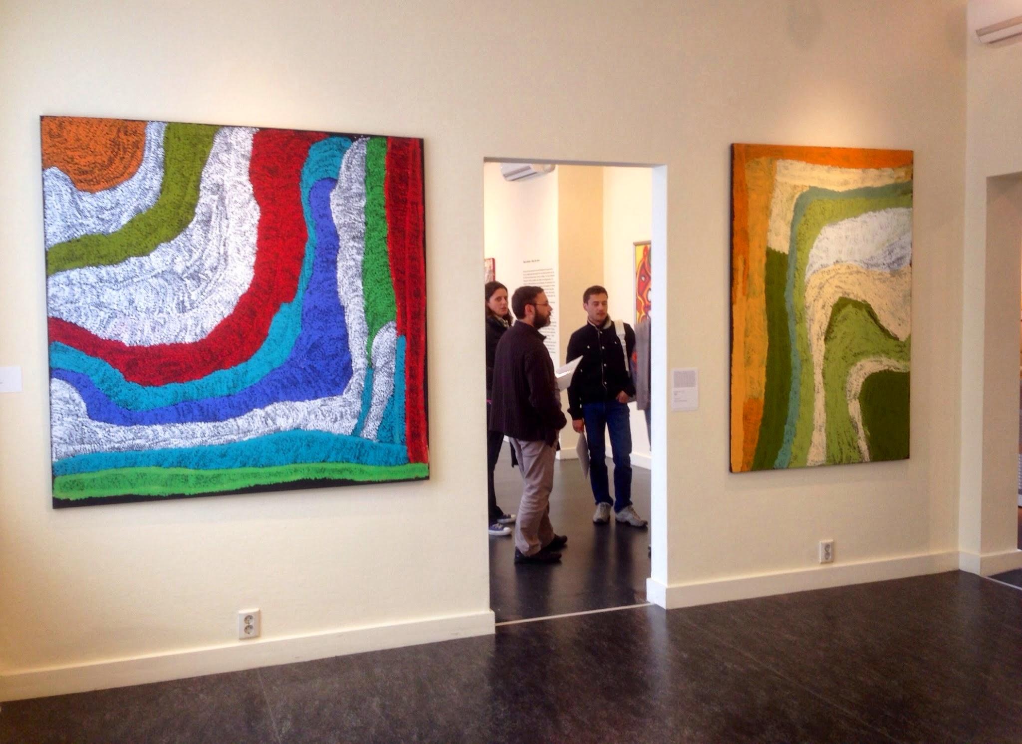 Exposition art aborigène : Utrecht - Bidyadanga