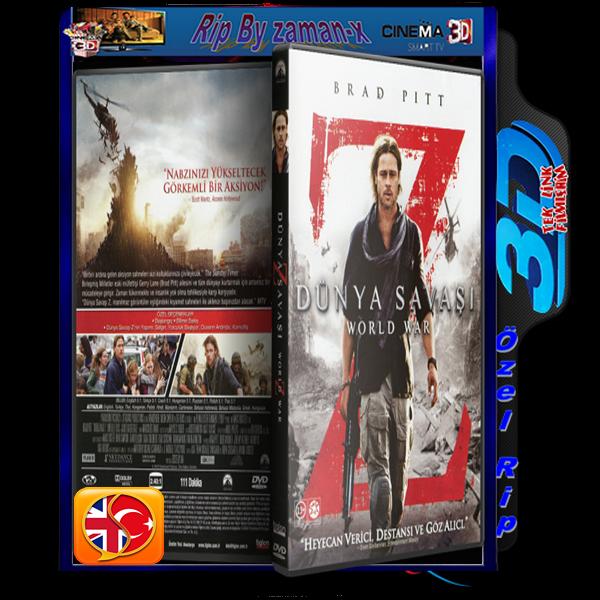 DüNYA SAVAşı Z | 3D | 2013 | BLURAY RiP | 1080p | AC3 DUAL 5.1 AUDiO | TR/ENG  2 GB