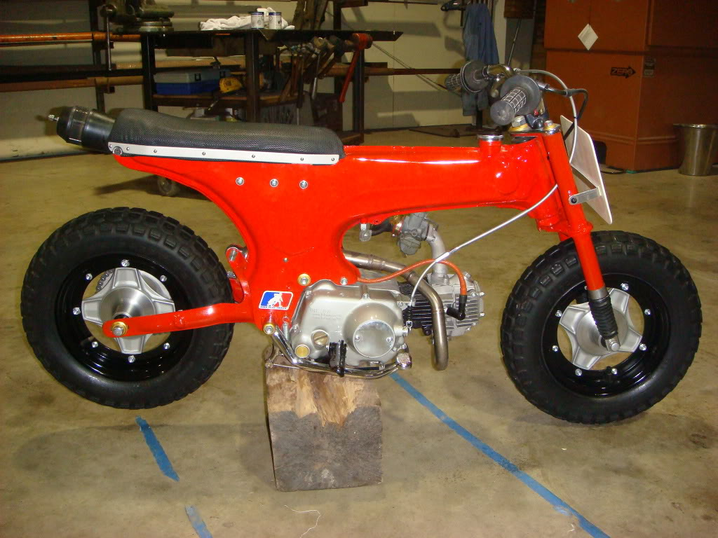 Sideblog Dirty Dax 1970 Honda Ct70 Moped Odd Ball