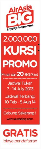 Promo Air Asia 2 Juta Kursi (Promo Tiket Pesawat)