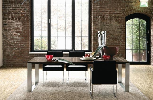 The dise o y muebles dise o de comedores modernos por h lsta for Comedores de diseno italiano