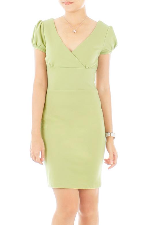 Thumbelina Pastel Dress – Pastel Green