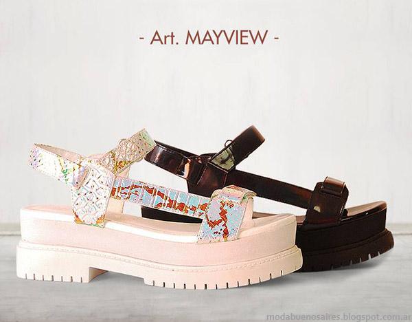 Moda calzado femenino primavera verano 2015. Sandalias 2015 Anca &  Co.