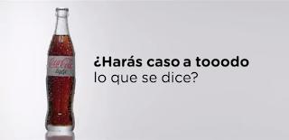 """Imagen del anuncio europeo: """"¿Harás caso a tooodo lo que se te dice?"""""""