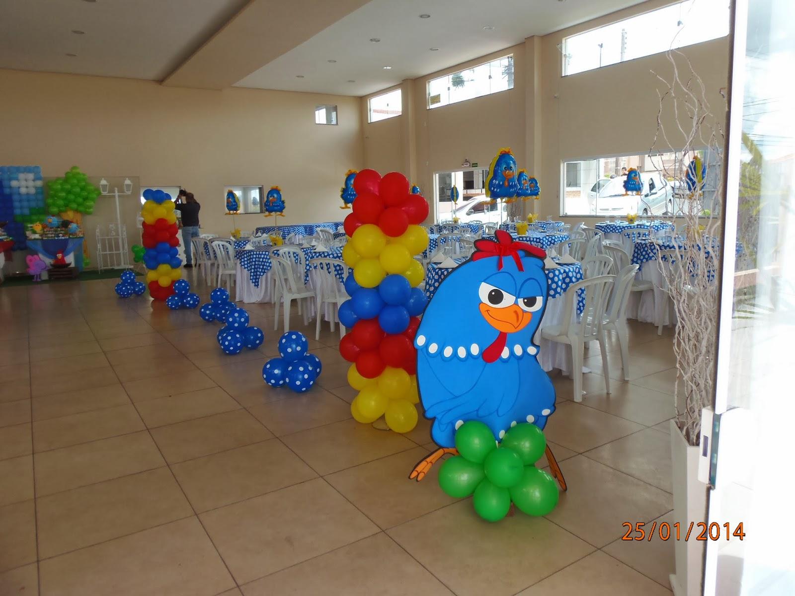 festa galinha pintadinha decoração