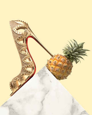 Christian Louboutin 'Pinder City' Spiked Red Sole Pump