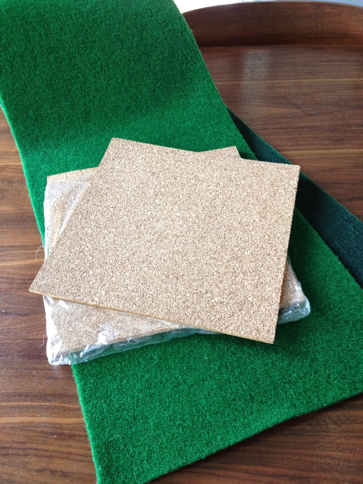Embarrassingly easy DIY cork board project. - Flipping the Flip