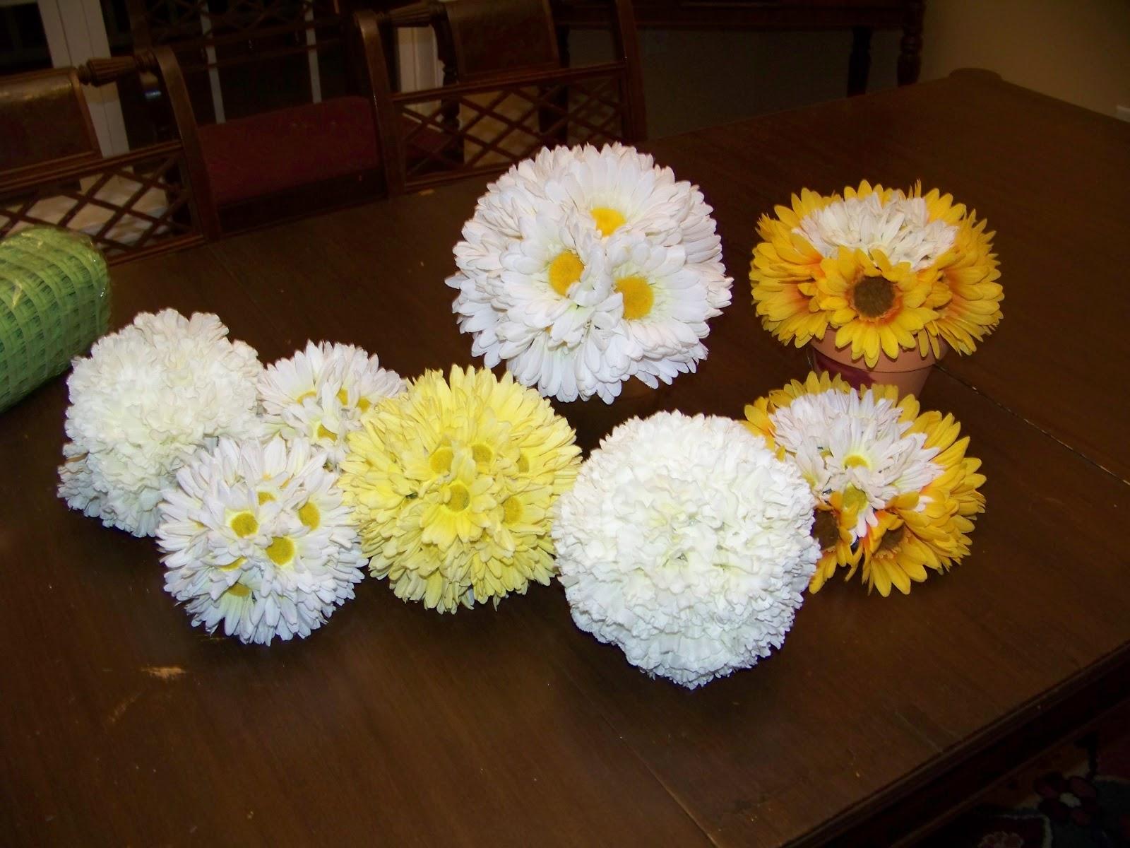 The Ferrell Boys and Me Spring Flower Balls