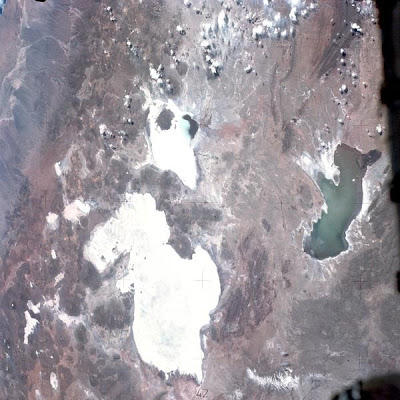 Mapa de Bolivia (NASA)