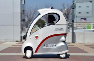 Hitachi Kembangkan Mobil Cerdas