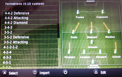 Football Manager Handheld Tactic creator