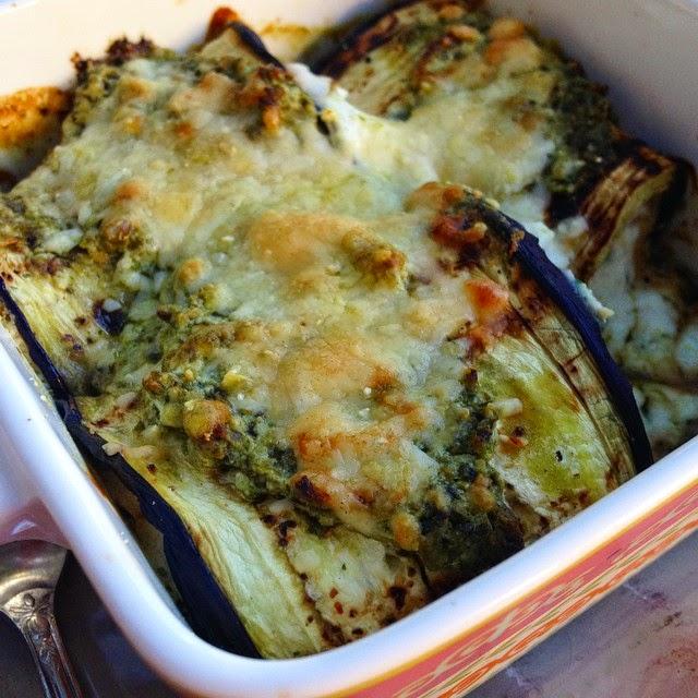 Healthy Eggplant Involtini