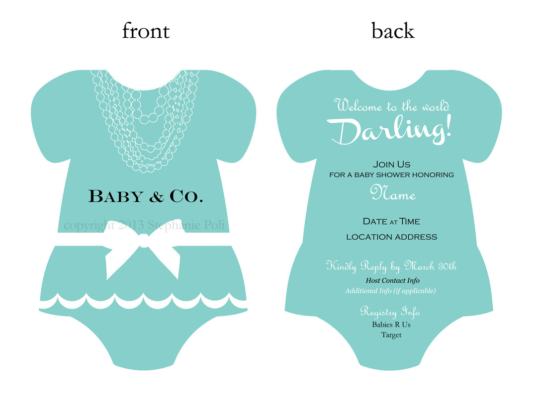 Baby & Co. Shower Invitation