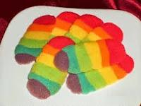 Penasaran Dengan Resep Lidah Kucing Rainbow ?