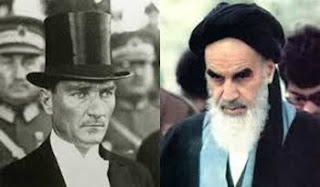 Atatürk and Khomeini