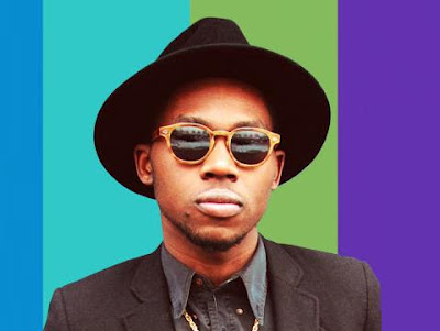 Theophilus London in MOSCOT Lemtosh blonde
