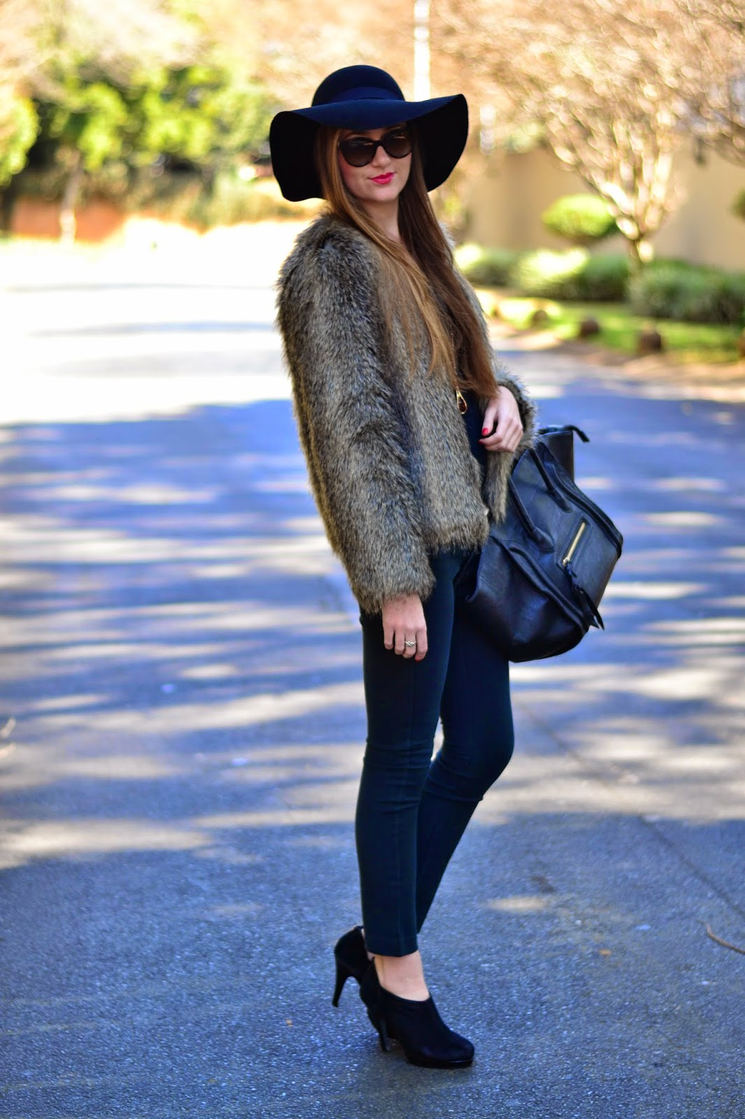 How to wear Faux Fur