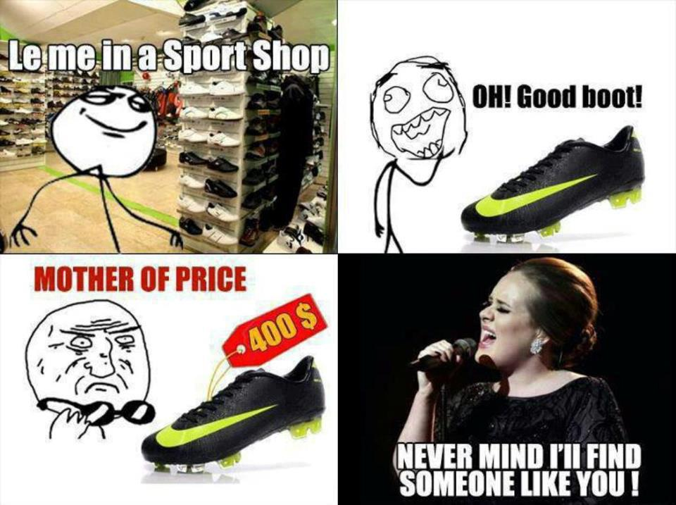 Le Me In A Sport Shop