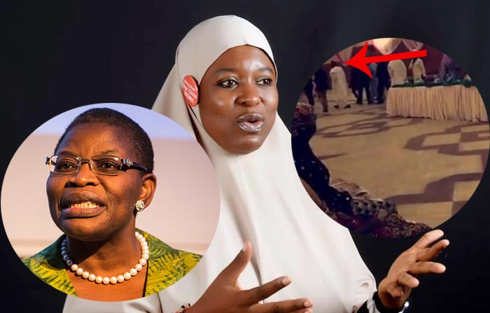 """Oby Ezekwesili Lied, Buhari Dropped The Mic With A Bang And Walked Out On Chibok Girls' Parents"""