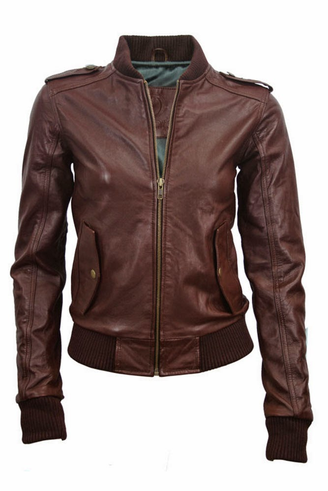 Women's Bomber leather jackets