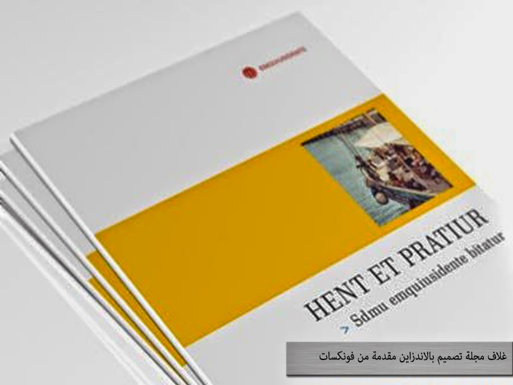brochures and magazines INDD/PSD تصميم غلاف مجلة او كتاب