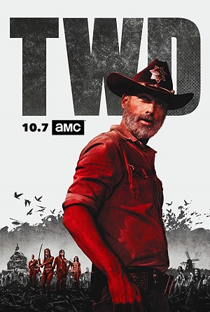 The Walking Dead S09 1280x720 Torrent torrent download capa