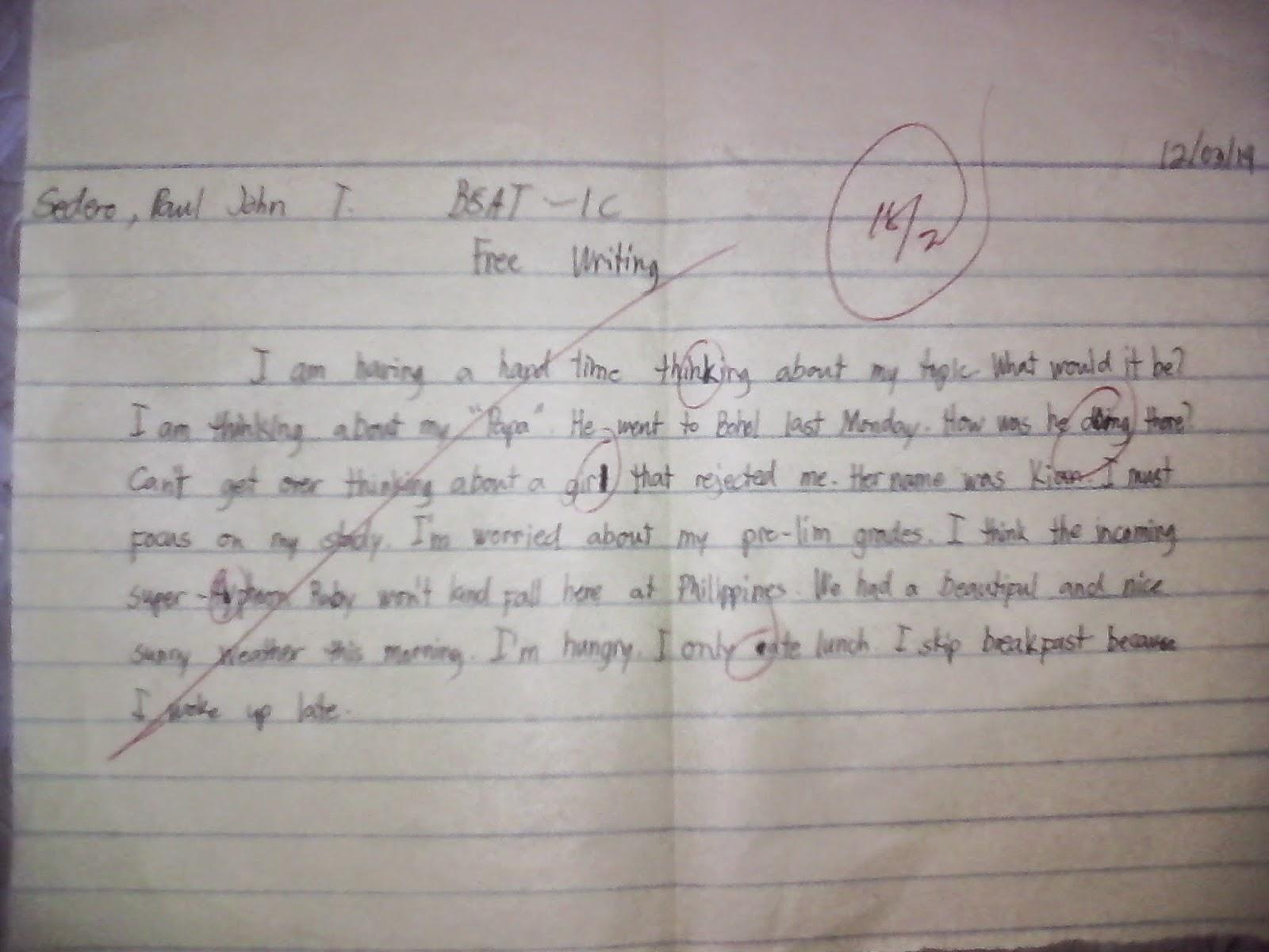 Short essay on discipline for students
