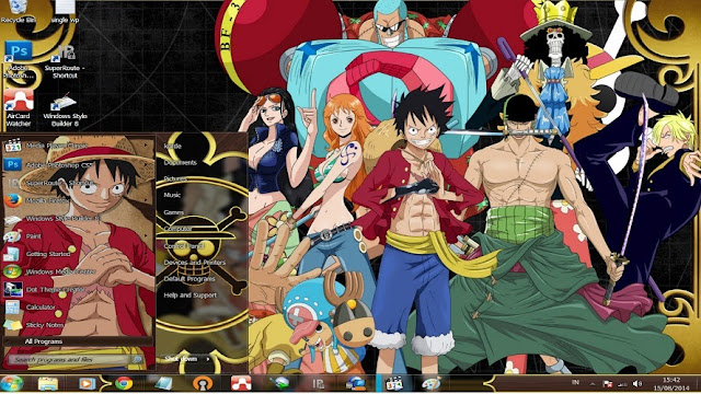 One Piece [ Theme Win 7 ] 1