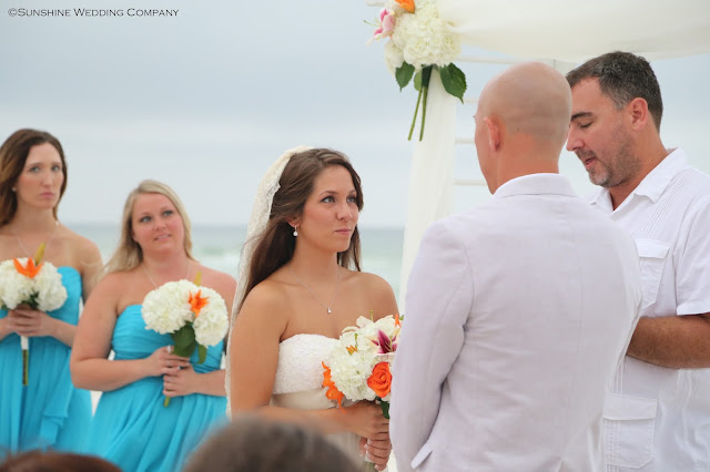Sunshine Wedding Company beach weddings at Henderson Beach State Park