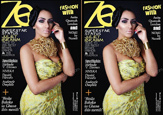 Juliet Ibrahim dazzles in Zen Magazine September Issue