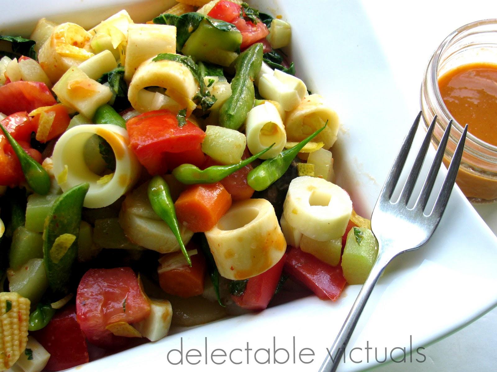 Hearts Of Palm Salad Recipe — Dishmaps
