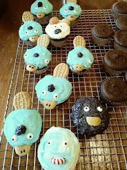 Platypus Cupcakes
