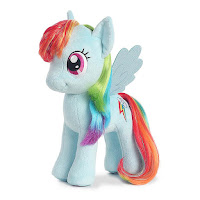 "Rainbow Dash 13"" Aurora Plush"